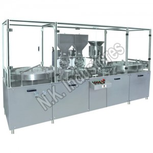 Manufacturer of Double Head Injectable Powder Filling Machine