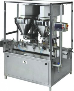 Manufacturer of Double Head Auger Powder Filling Machine.