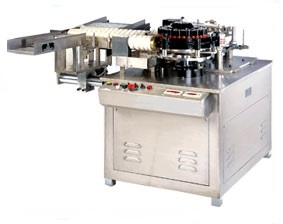 Manufacturer of Ampoule wet glue labeling machine