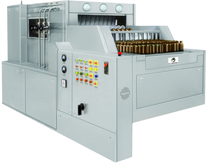 Manufacturer of Automatic Linear Bottle Washing Machine